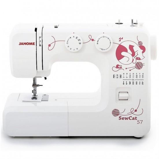 Janome Sew Cat 57