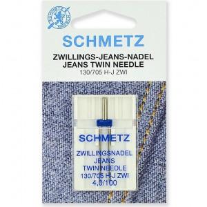 Schmetz Twin Jeans №100/4.0 фото 1