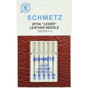 Schmetz Leather ассорти №80-100 фото 1