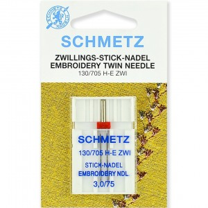 Schmetz Twin Embroidery №75/3.0 фото 1