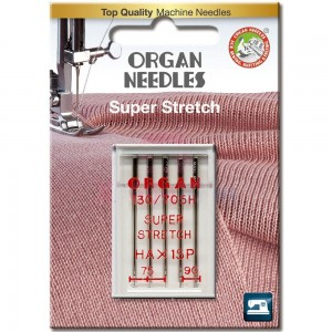 Иглы для стрейча Organ Super Stretch 75-90 фото 1