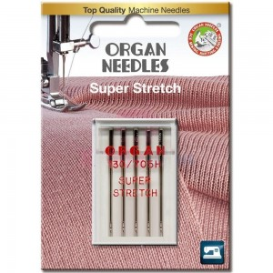 Иглы для стрейча Organ Super Stretch №65 фото 1