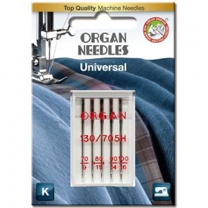 Иглы универсальные Organ Universal №70-100 фото 1