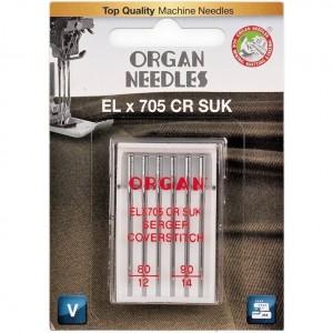 Иглы для распошивалки Organ CoverStitch №80-90 фото 1