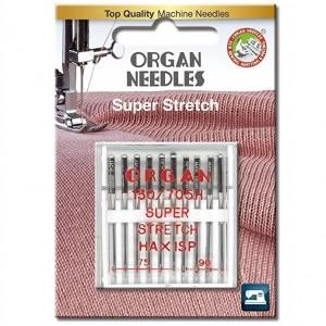 Иглы для стрейча Organ Super Stretch 75-90 10 штук фото 1
