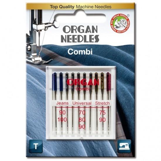 Иглы комбинированные Organ Combi-Box 10 штук