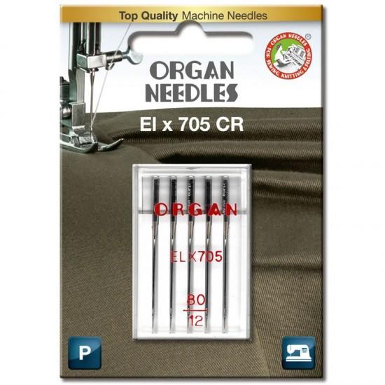 Иглы для распошивалки Organ CoverStitch №80