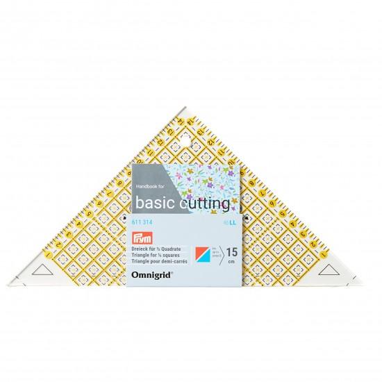 Линейка проворный треугольник Prym 611314