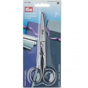 Ножницы цельностальные 15 см Prym 610563 фото 1