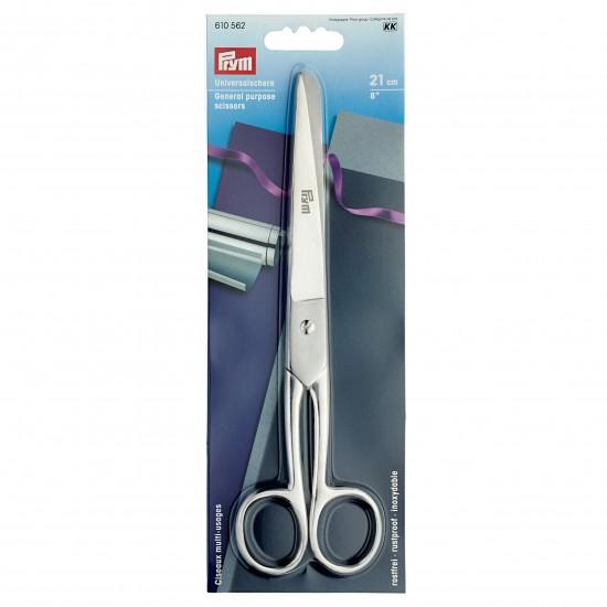 Ножницы цельностальные 21 см Prym 610562