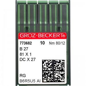 Groz-Beckert DCx27 RG №80 фото 1