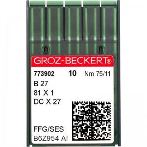 Groz-Beckert DCx27 SES №75 фото 1
