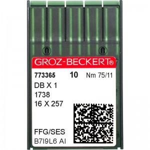 Groz-Beckert DBx1 SES №75 фото 1