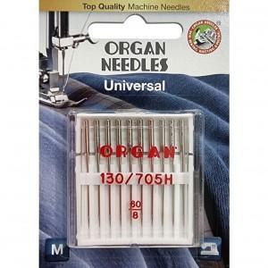 Иглы универсальные Organ Universal №60 10 штук фото 1