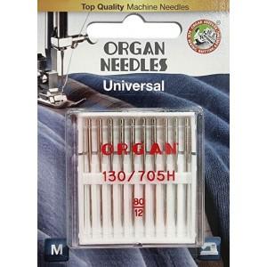 Иглы универсальные Organ Universal №80 10 штук фото 1