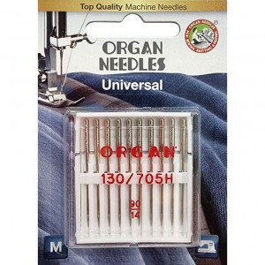Иглы универсальные Organ Universal №90 10 штук фото 1