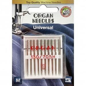Иглы универсальные Organ Universal №120 10 штук фото 1