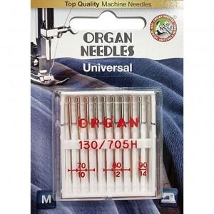 Иглы универсальные Organ Universal №70-90 10 штук фото 1