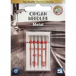 Иглы для металлизированных нитей Organ Metal №90/100 фото 1
