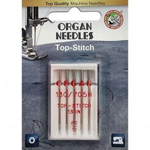 Иглы для штопки и вышивки Organ Top-Stitch №80 5 штук фото 1