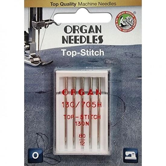 Иглы для штопки и вышивки Organ Top-Stitch №80 5 штук