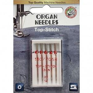 Иглы для штопки и вышивки Organ Top-Stitch №90 5 штук фото 1