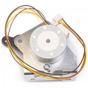 Мотор шаговый привода рейки продвижения ткани фото 1